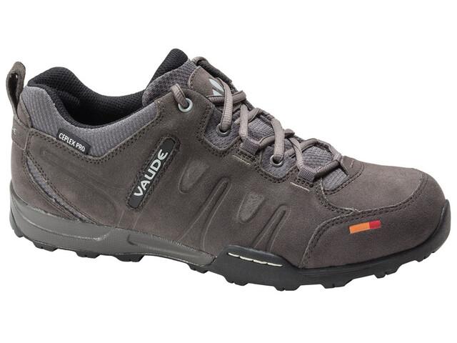 VAUDE Grounder Ceplex Low II Shoes Women charcoal